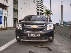 Chevrolet Orlando LT AT 2014 HITAM
