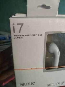 I7 WIRELESS MUSIC EARPHONE OG