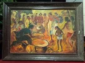 Lukisan tua karya Hendra