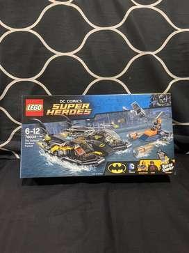 Lego DC COMICS SUPER HEROES Batman The Batboat Harbour Pursuit 76034