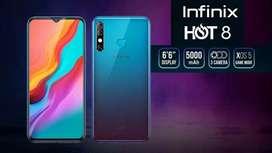 Infinix hot 8 64gb , 9846(211190)
