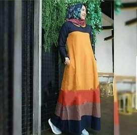 Baju gamis wanita berbagai model harga grosir