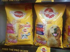 3kg Pedigree Dog Food Available Here At 20% OFF The Pet Shop Agra