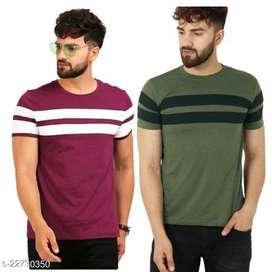 2 Comfy Graceful Men Tshirts ₹482