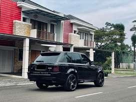 """Range Rover Sport 4.2L V8 Supercharged 2007 Black on Black 22"""" NICHE"""