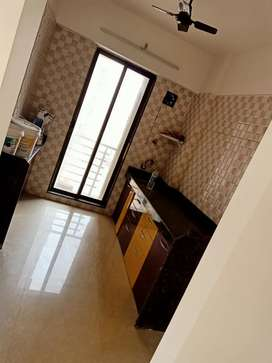1bhk flat available in near hyper city ghodbander road