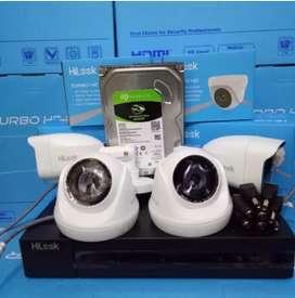 Camera cctv real 2mp/1080p super jelas & tajam