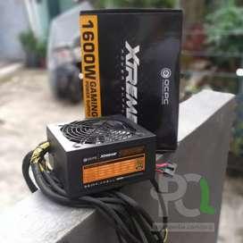 Power Supply 1600w OCPC Extreme 80+ Gold Fullset LikeNew