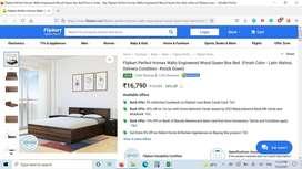 Flipkart perfect homes waltz queen bed