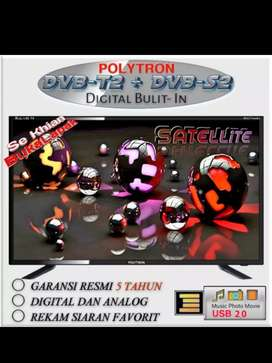 POLYTRON 32 Inch TV LED PLD 32TS1503 /JUALAN LED TV BARU DN GARANSI