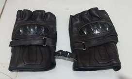 Sarung tangan motor cevlar half batok