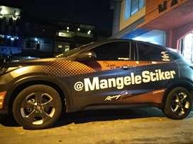 Mau Apa Aja Bisa Boz, AYO Ke Mangele Sticker Mobil Motor | Best Stiker