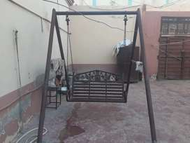 An iron jhula  with pure iron