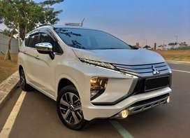 Mitsubishi XPANDER ULTiMATE matic 2019 putih KM 5.000 FULL ORISINIL
