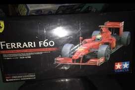 Rc Tamiya F1 f60 belum rakit skala 1:10