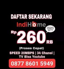indihome internet unlimited tv channel termurah paket promo flat