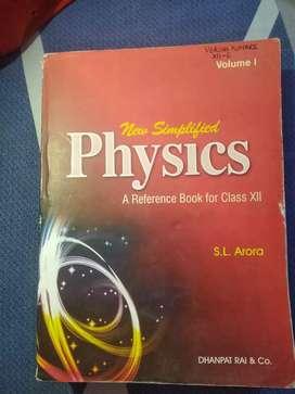 Physics by S L Arora (Class 12)