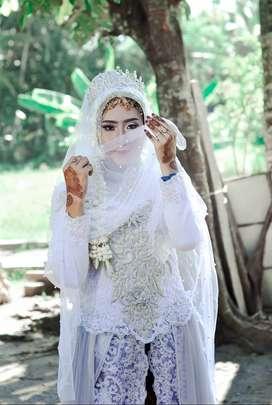 Paket rias dan dekorasi pernikahan, murah, amanh, bnyk busana pilihan
