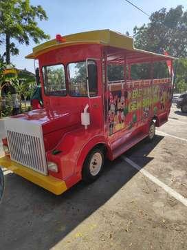 kereta wisata Mesin kijang Warna bebas reques odong Free desain DO432