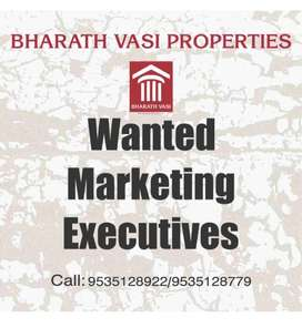 NEED MARKETING EXECUITIVE