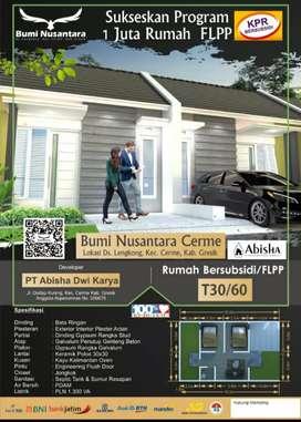 Rumah subsidi Bumi Nusantara Cerme