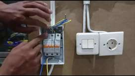 Instalasi Listrik, Sedot WC dan Servis AC