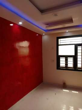 70 gaj 2bhk 2-side open fully ventilated flat with 90% Bank Loan Facil