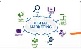 Digital marketing professional Required with Good incentive