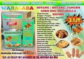 Paket HOTMIE SOTANG CORN MOZARELLA Siap Jualan