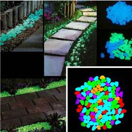 Glow In The Dark Stones Pebbles Aquarium
