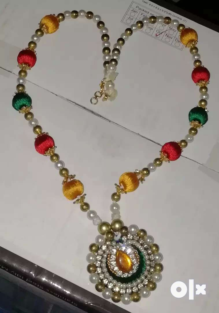 Silk thread jewellery 0