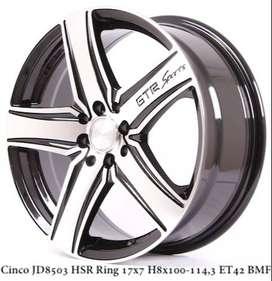 Velg Mobil Avanza CINCO HSR R 17X7 H 8X100-114,3 ET42 BMF