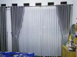 Gorden jendela/kaca minimalis/klasik