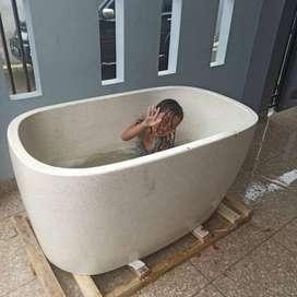 Bathtub Tipe Jepang Handmade Terazzo Custome P160cm
