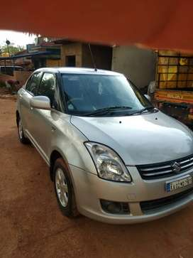 Swift dzire  Good condition and 4 wheels all fresh