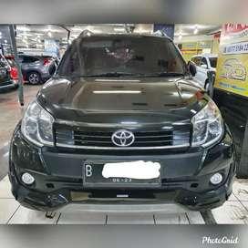 Toyota Rush TRD matic th 2016 wrn Hitam,pajak pjg