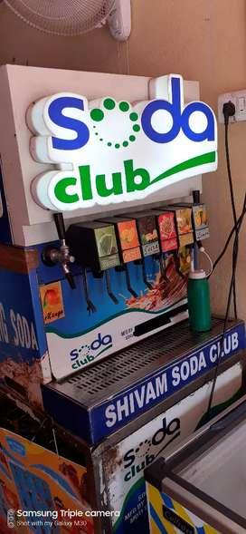Soda club soda machine