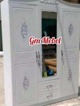 Lemari Pakaian Import 3 Pintu GM MEBEL