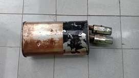 Knalpot original mitsubishi galant