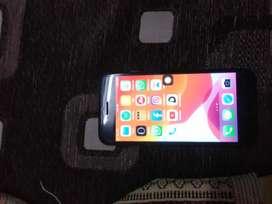Iphone 7 jet black color 32 gb