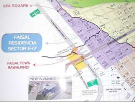 5 , 8 , 10 Marla Plots are Available in Faisal Resedencia E17