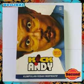 Buku Acara TV Jadul Kick Andy Original - Kumpulan Kisah Inspiratif