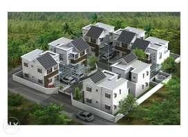 3 BHK budget villas in calicut