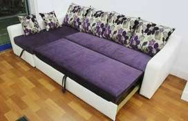 Brand new sofa cum bed at very best price in market