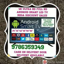 ANDROID SMART LED TV FRAMELESS TV 4K TV MEGA DISCOUNT SALES