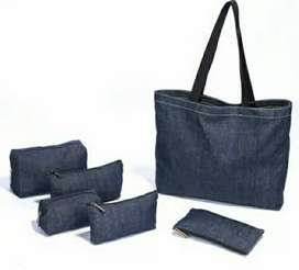 Hand-Made Jeans Bags
