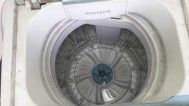 Samsung silver Nano fully automatic washing machine