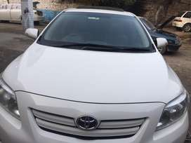 Corolla 2008-2014 bonnet white color