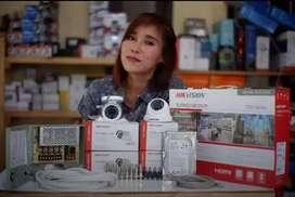 CCTV 2MF pemasangan propesionall FuLL HD ).
