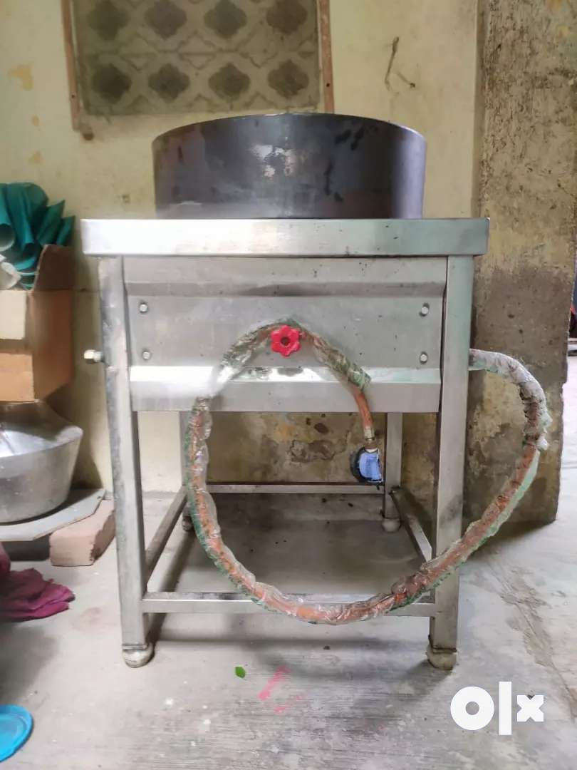 commercial gas stove with kadai 0